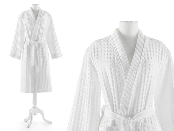 6703959277 Peacock Alley - Waffle Robe