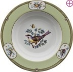 Windsor Bird Rim Soup Plate by Julie Wear