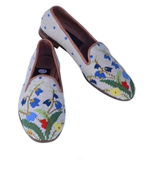 ByPaige - Flower Bouquet Needlepoint Women's Loafer