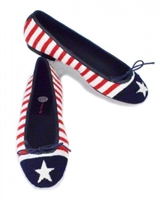 ByPaige - Stars and Stripes Needlepoint Ballet Flats