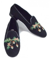 ByPaige - Oak Leaf and Acorn Needlepoint Women's Loafer