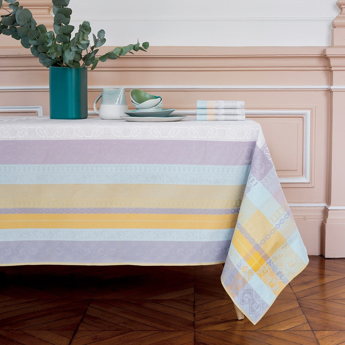 Lovely Astra Table Linens By Yves Delorme