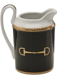 Cheval Black Creamer by Julie Wear