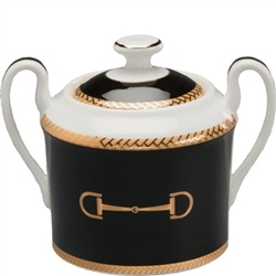 Cheval Black Sugar Bowl by Julie Wear