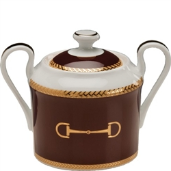 Cheval Chestnut Brown Sugar Bowl by Julie Wear