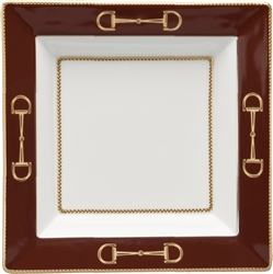 Cheval Chestnut Brown Presentation Tray by Julie Wear