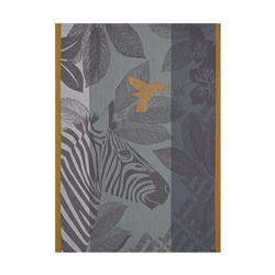 Zebra Tea Towel (Pair) by Le Jacquard Francais