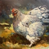 Original Oil Painting: Cochin Hen