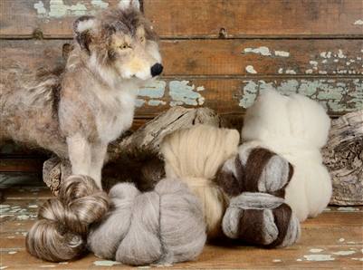 Wolf Boodle by Sarafina Fiber Art