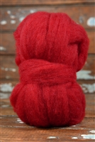 Sarafina Core Roving: Christmas Red  2 oz
