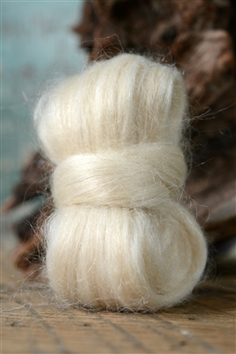 Platinum Mohair Top