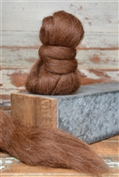 Dark Brown Baby Alpaca Roving