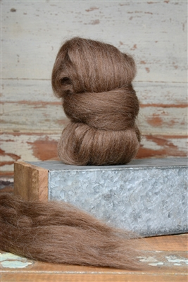 Brown Finnish Top Coat - Natural Roving