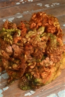 Autumn Fiber Art Locks
