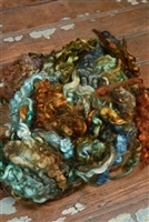Bronze Fiber Art Locks