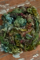 Lichen Fiber Art Locks