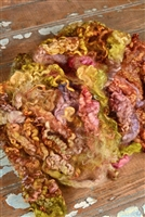 Succulent Fiber Art Locks