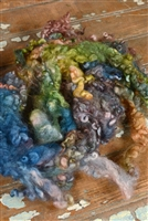 Vintage Rose Fiber Art Locks