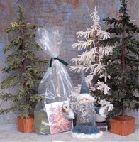 Wooly Pine Tree Kit White