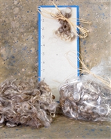 Silver-Blonde Mohair Locks