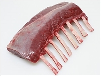 Exotic Meat Market offers 8 Bone Frenched Rack of Venison. Venison rack makes a meal an occasion. Roast whole, or slice into cutlets, then pan fry or barbecue. Carve it at the table for maximum impact.