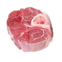 Exotic Meat Market offers Antelope Osso Buco. In Italian, Osso Buco translates as 'bone with a hole,' which is actually a fairly accurate description. Antelope Osso Buco cut is a cross-section of a shank.