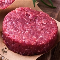 NEW ZEALAND RED DEER Burgers - 10 Lbs - 8 oz. Each Round