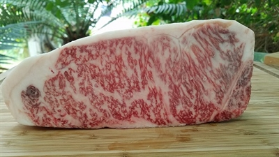 Kobe Beef from Japan, Wagyu Beef from Japan, Grade A 5, Japanese Beef, Strip steak, Strip Loin Steak, New York Strip Steak, New York Steak, Miyazaki Beef, A5, Grade A 5 Japanese Beef, Delmonico Steak, Kansas City Steak, Steak, Steaks