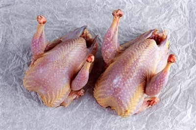 Manchester Farm Semi Boneless Quail - 24 Pieces