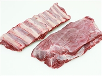 Exotic Meat Market offers Venison short ribs. Venison short ribs are a delicious meal. Farmed Venison is tender and very flavorsome. High in iron and extremely low in fat. There is very little shrinkage during cooking.