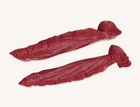 Exotic Meat Market offers Venison Tenderloin. The most tender cut is lean, succulent and elegant, with mild flavor.Venison Tenderloin makes a meal an occasion. Roast whole tenderloin or slice into steaks, then pan fry or barbecue.