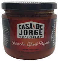 Sriracha Ghost Pepper Salsa