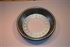 Centramatic #900-910 big brake drum for steel wheels, Steer axle.