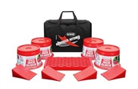 Ultimate Trailer Gear Trailer Jack Block Bag includes the following: