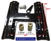 Popup CAG convert a goose 5th wheel base plate (rail) for gooseneck hitches