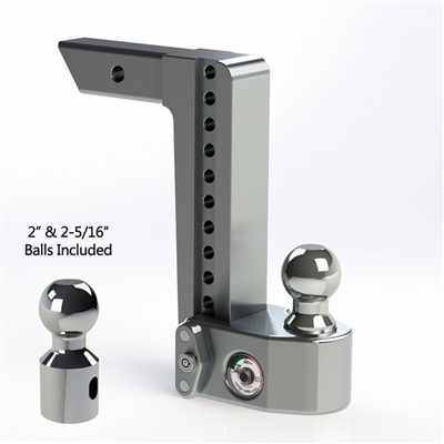 Weigh-Safe ws10-2 and ws10-2.5 aluminum adjustable hitch scale