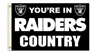 OAKLAND RAIDERS 3FT X 5FT