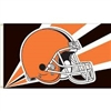 CLEVELAND BROWNS 3FT X 5FT