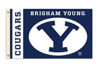 BRIGHAM YOUNG 3FT X 5FT