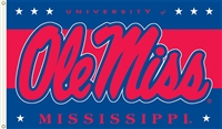 OLE MISS 3FT X 5FT