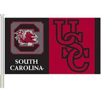 SOUTH CAROLINA CAR FLAG