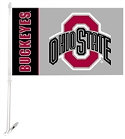 OHIO STATE CAR FLAG