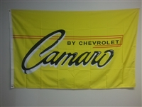 CAMARO YELLOW 3FT X 5FT