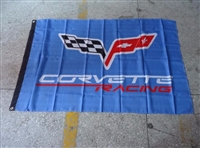 CORVETTE C7 RACING FLAG 3FT X 5FT