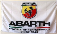 FIAT ABARTH 3FT X 5FT