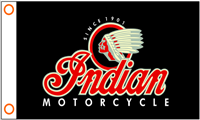 INDIAN MOTORCYCLE 3FT X 5FT