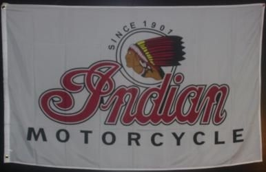 INDIAN-BIKE 3FT X 5FT