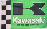 KAWASAKI-BIKE 3FT X 5FT