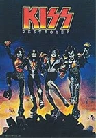 KISS VERTICAL FLAG 5FT X 3FT
