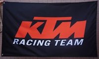KTM MOTORCYCLE 3FT X 5FT